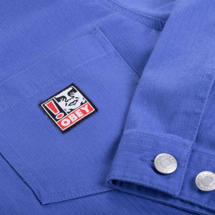 Obey Pebble Chore Jacket Ultramarine