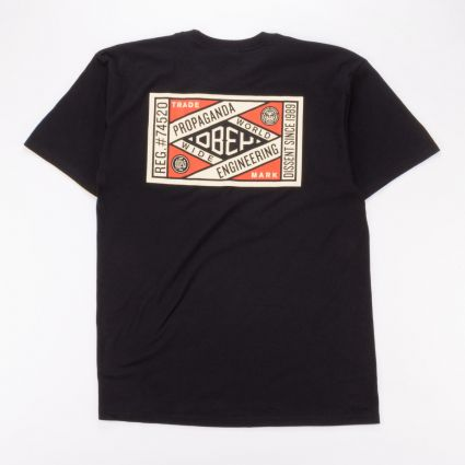 Obey Prop. Engineering Basic T-Shirt Black