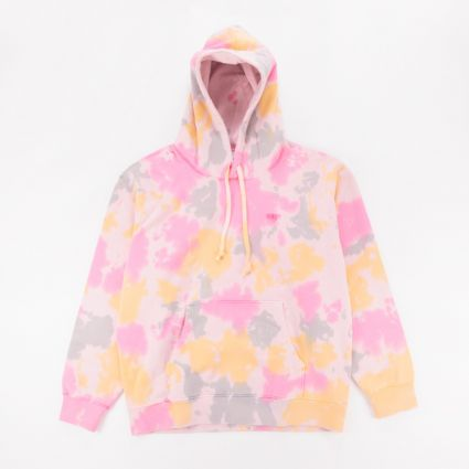 Obey Sustainable Tie Dye Hoodie Yellow Multi1