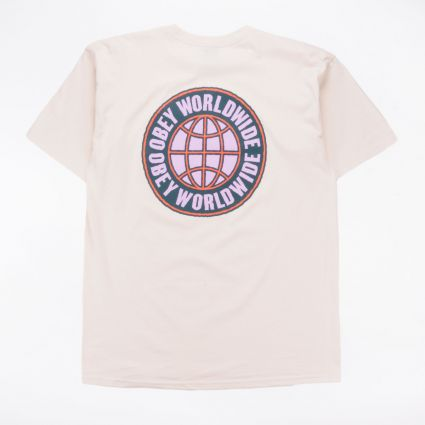 Obey Unity Worldwide Basic T-Shirt Natural