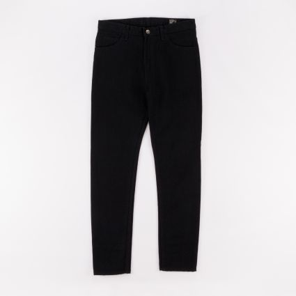 orSlow C100 Super Slim Pants Denim Black