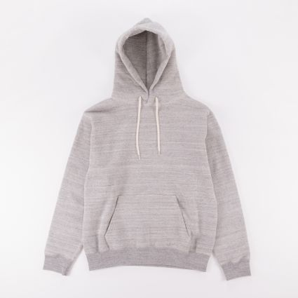 Orslow Hooded Sweatshirt Heather Grey