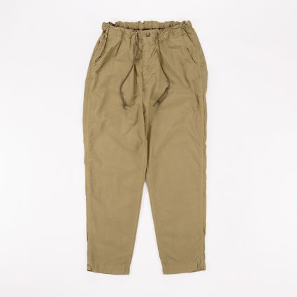 orSlow New Yorker Pant Gold Brown