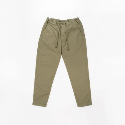 orSlow New Yorker Pants Army Green1