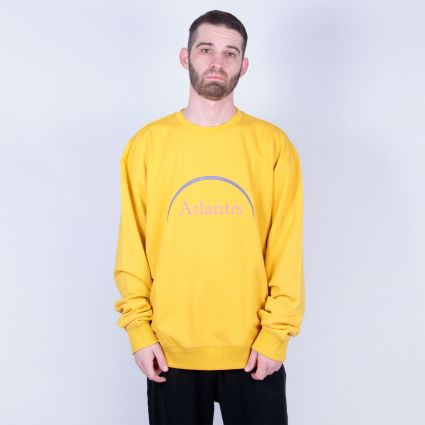 P.A.M. Atlantis Crewneck Sweatshirt Yellow