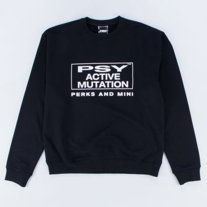 P.A.M. Brain Activity Crewneck Sweat Black