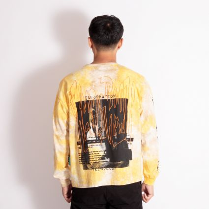P.A.M. DNA Oversized LS T-Shirt Terracotta Wash