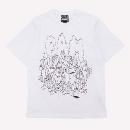 P.A.M. Screen Time SS Tee Optical White1