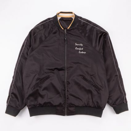 P.A.M. Team Work Reversible Satin Jacket Black Shadow