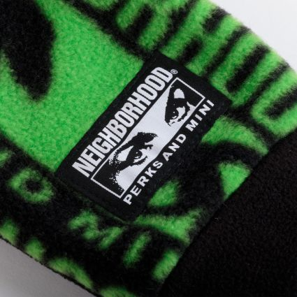 P.A.M. x Neighborhood Fleece Gloves Black