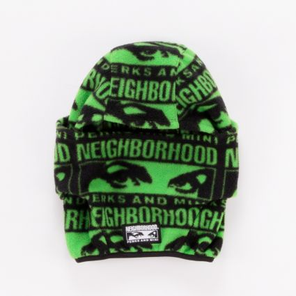 P.A.M. x Neighborhood Fleece Mask Black1
