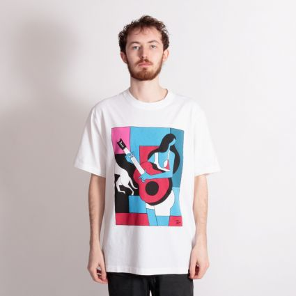 Parra Can't Hardly Stand It T-Shirt White