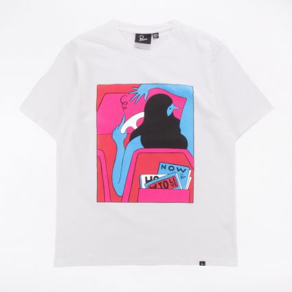 Parra How To Live Now T-Shirt White1