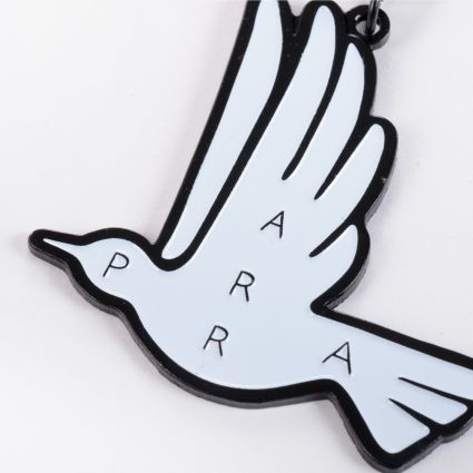 Parra Static Flight Key Chain White