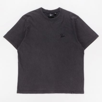 Parra Washed Out Logo T-Shirt Washed Black1