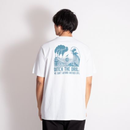 Patagonia Ditch The Drill Responsibili-Tee White