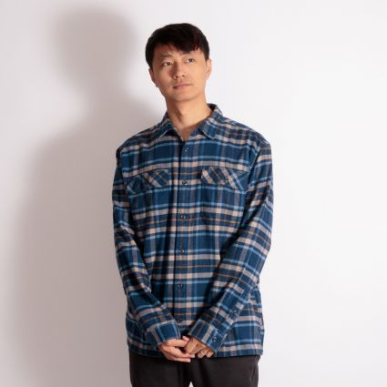 Patagonia Fjord Flannel Shirt Independence: New Navy