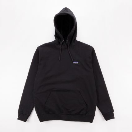Patagonia P-6 Label Uprisal Hoody Black1
