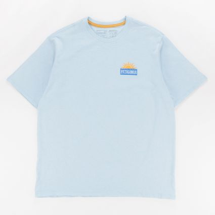 Patagonia Stop The Rise Responsibili-Tee Fin Blue1