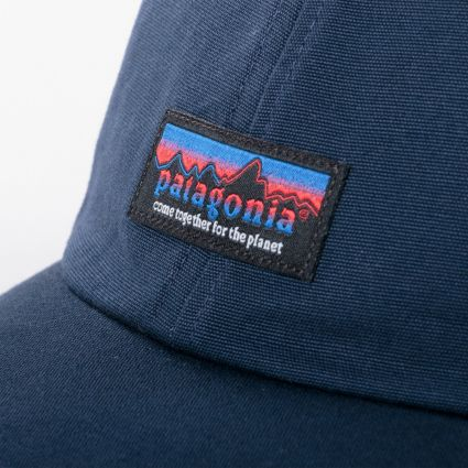 Patagonia Together For The Planet Label Trad Cap New Navy