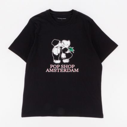 POP Trading Amsterdam T-Shirt Black1