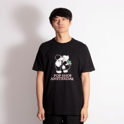 POP Trading Amsterdam T-Shirt Black