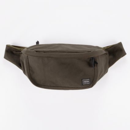 Porter by Yoshida & Co Beat Waist Bag L Green1