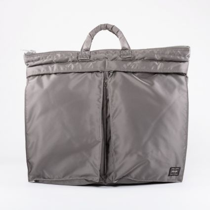 Porter by Yoshida & Co Tanker 2Way Helmet Bag Silver Grey1
