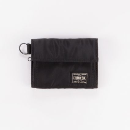 Porter by Yoshida & Co Tanker Wallet Black1
