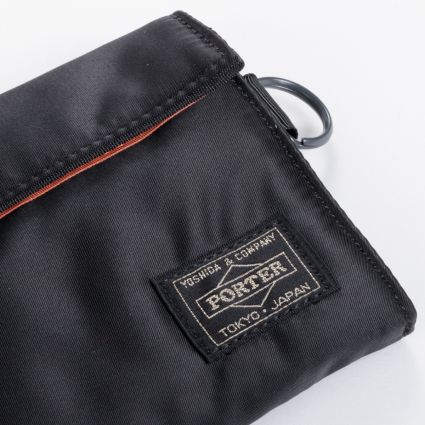 Porter by Yoshida & Co Tanker Wallet Long Black