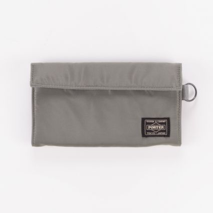 Porter by Yoshida & Co Tanker Wallet Long Silver Grey1