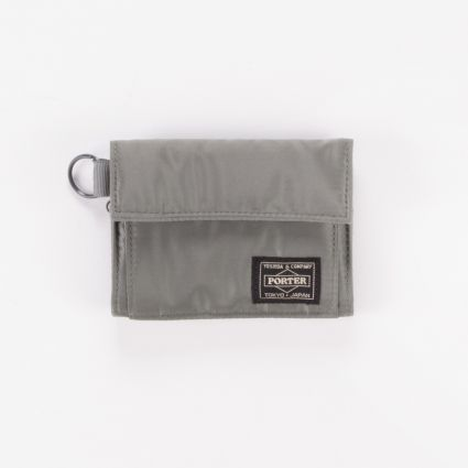 Porter by Yoshida & Co Tanker Wallet Silver Grey1