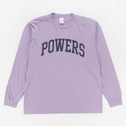 Powers Arch Long Sleeve T-Shirt Muted Plum1