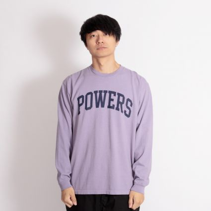 Powers Arch Long Sleeve T-Shirt Muted Plum