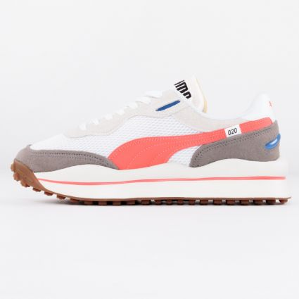 Puma Style Rider Stream On White/Vaporous Grey1