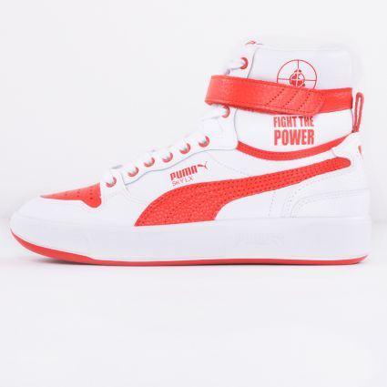Puma x Public Enemy Sky LX Puma White/High Risk Red