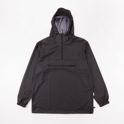 RAINS Ultralight Zip Anorak Black1