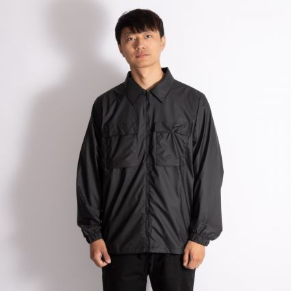 RAINS Ultralight Zip Shirt Black