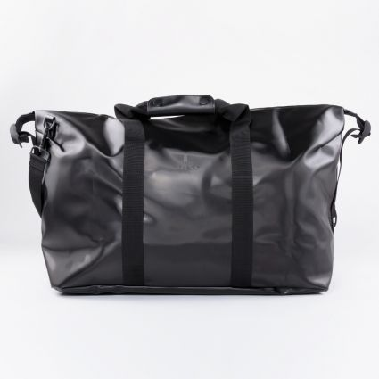 RAINS Weekend Bag Shiny Black1
