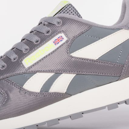 Reebok CL Leather Spacer Grey/Classic White/Yellow Flare FY7550