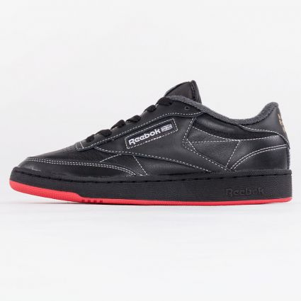 Reebok Club C 85 Human Rights Now Core Black/Pure Grey 8/Vector Red1