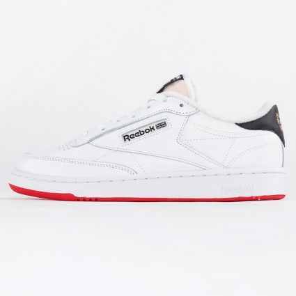 Reebok Club C 85 Human Rights Now Footwear White/Chalk/Vector Red1