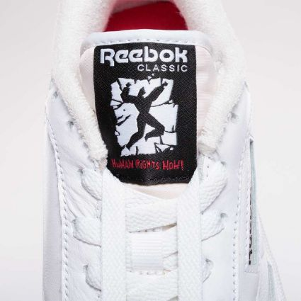 Reebok Club C 85 Human Rights Now Footwear White/Chalk/Vector Red