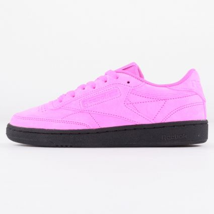 Reebok Women's Club C Dynamic Pink/Dynamic Pink/Black1