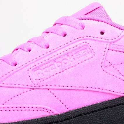 Reebok Women's Club C Dynamic Pink/Dynamic Pink/Black