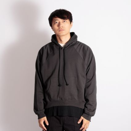 Sasquatchfabrix. Double Face Sweat Hoodie Black