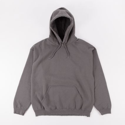 Sasquatchfabrix. Kinpusen Pilling Sweat Hoodie Charcoal Gray