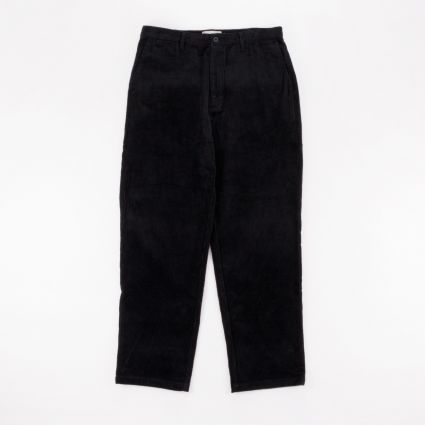 Satta Cord Pants Black1