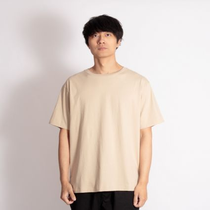 Satta Organic Cotton T-Shirt Stone