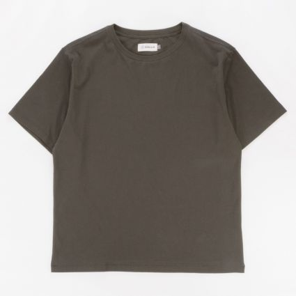 Satta Organic Cotton T-Shirt Washed Black1